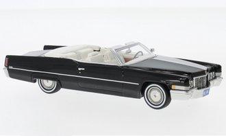 1:43 1970 Cadillac De Ville Convertible (Black)