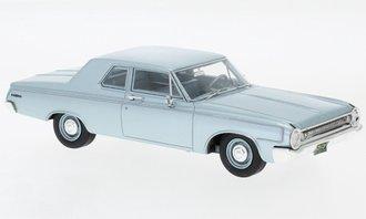 1:43 1964 Dodge 330 Sedan (Light Blue Metallic)