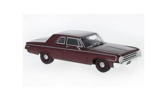 1964 Dodge 330 Sedan (Dark Red Metallic)