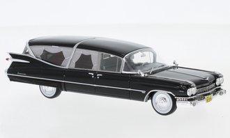 1:43 1959 Cadillac Superior Hearse (Black)