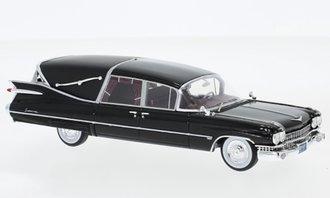 1959 Cadillac Superior Crown Royale Landau Hearse (Black)