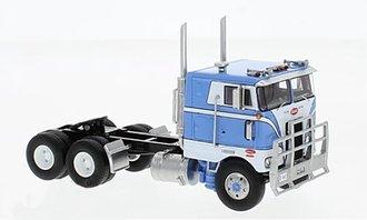 "1:64 1979 Peterbilt 352 Pacemaker 86"" Sleeper Cab (Blue/White)"