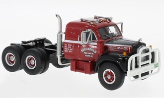 1:64 1957 Mack B-61ST Sleeper Cab (Red/Black)