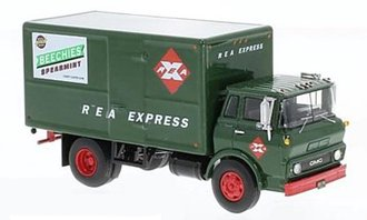 "1:64 1960 GMC Steel Tilt Cab Box Truck ""Railway Express Agency"""