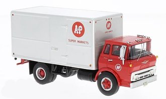"1:64 1960 Chevy Steel Tilt Cab Box Truck ""A&P Super Markets"""