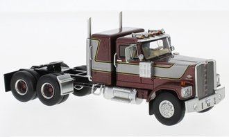 1:64 1974 Diamond Reo Raider Sleeper Cab (Purple Metallic/Silver)