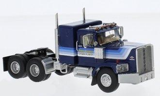1:64 1974 Diamond Reo Raider SBFA Sleeper Cab (Blue/White)