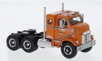 1:64 1954 GMC 950 Cannonball Sleeper Cab (Orange)