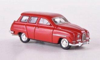 1961 Saab 95 (Red)