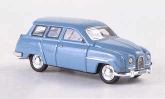 1961 Saab 95 (Light Blue)