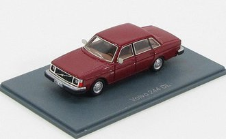 1976 Volvo 244DL (Dark Red)