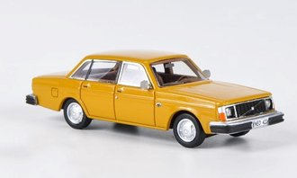 1976 Volvo 244 DL (Orange)