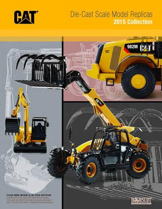 1:50 Norscot Caterpillar Catalog