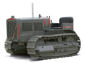 Caterpillar Twenty Crawler Tractor w/Metal Tracks