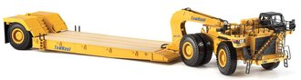 Caterpillar 784C Tractor w/TowHaul Trailer