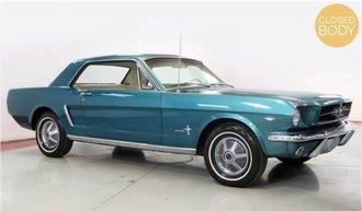 1:18 1965 Ford Mustang Hardtop Coupe (Turquoise Metallic)