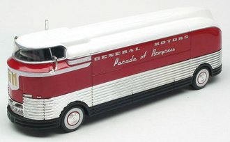 "1953 GM Futurliner ""GM Parade of Progress"" (Red/White)"