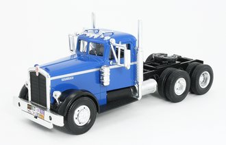 1:43 1951 Kenworth 525 Dual-Axle Tractor (Blue/Black)