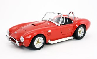 1:18 Shelby Cobra Convertible 427S/C (Red)