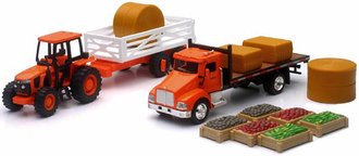 1:43 Kubota Farm Play Set