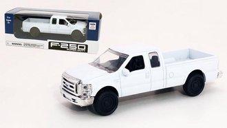 1:43 Ford F-250 Super Duty Pickup (White)