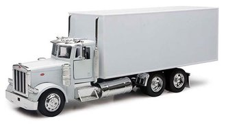 1:32 Peterbilt Box Truck (White)