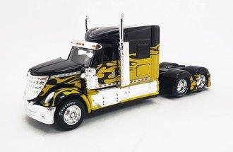 1:64 Custom Rigs - International LoneStar (Yellow/Black)