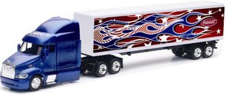 "1:43 Peterbilt 387 w/Van Trailer ""Peterbilt - Stars & Stripes"""