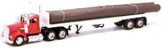 Kenworth W900 Flatbed w/Logs