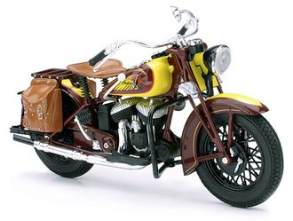 1:12 1934 Indian Chief Sport Scout Motorcycle