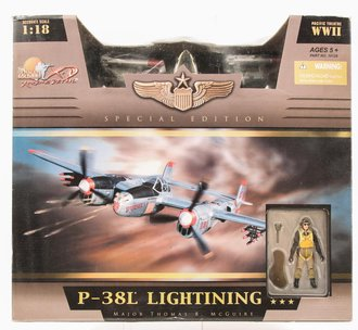 21st Century Ultimate Soldier - Pudgy (V) P38 Plane w/Pilot (Limited Edition)