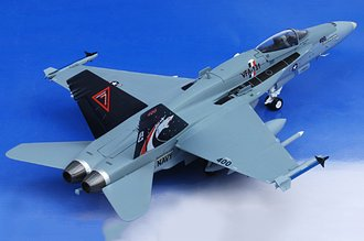"F/A-18C Hornet ""VFA131 Wildcats CAG"" Limited Edition 672PCS"