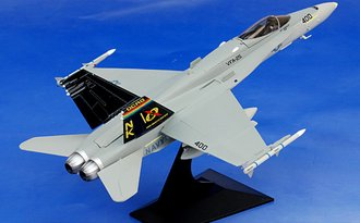"""McDonnell Douglas F/A-18C Hornet """"USN VFA-25 Fist of the Fleet, NK400, CAG, USS Independence, 1990"""""""