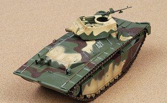 """LVT(A)-4 Water Buffalo """"USMC 2nd Armored Amphibian Btn, A21, Iwo Jima, 1945"""" w/Diorama"""
