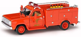 """Emergency! - Dodge Squad 51 Truck """"L.A. County"""" (Red)"""