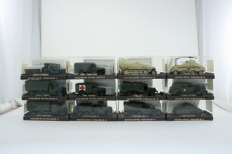 44-89 Overlord Military WWII Vehicles (Set of 12)