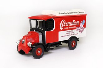 "1920 Mack AC Truck ""Carnation"" (Red)"