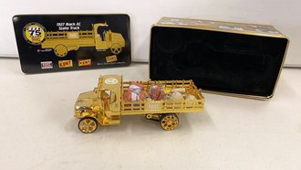 "1927 Mack AC Stake Truck ""Kent Feeds"" (Gold)"