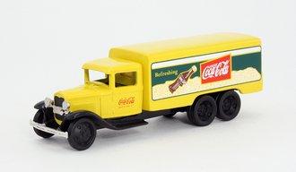 "1:64 1930's Chevrolet Delivery Truck ""Coca-Cola"" (Yellow)"