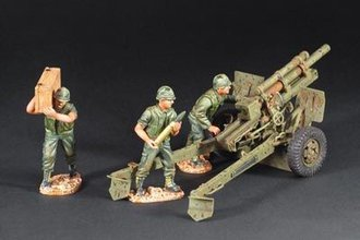 """1:30 105 MM Howitzer """"The Vietnam War"""" (Resin)"""