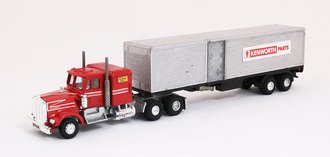 Kenworth Moving Van (Red)