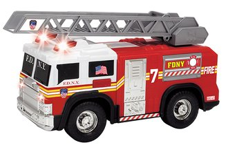 "1:24 Ladder Truck w/Lights & Sound ""FDNY"""