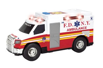 "1:24 Ambulance w/Lights & Sound ""FDNY"""