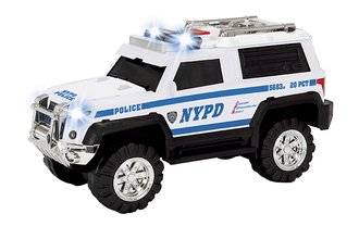 "1:24 SUV w/Lights & Sound ""NYPD"""
