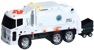 NYC Motorized Sanitation Truck w/Lights & Sound