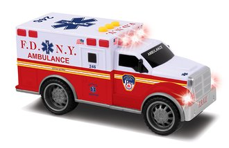 "1:32 Ambulance w/Lights & Sound ""FDNY"""