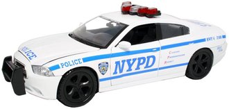 1:24 NYPD Dodge Charger Police Car