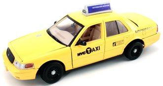 1:24 NYC Ford Taxi