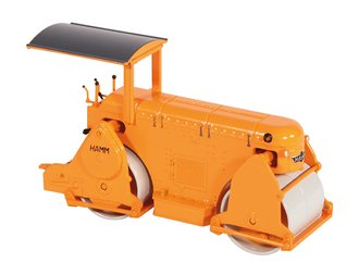 1:50 Hamm ZVTD 8.5 Historic Roller (Orange)