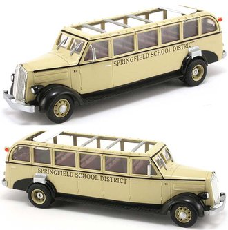 1936 White Motors 706 School Bus (Tan)